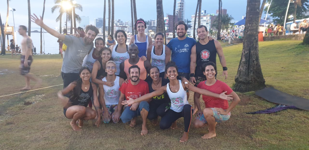 Acroyoga intensive weekend in Salvador de Bahia